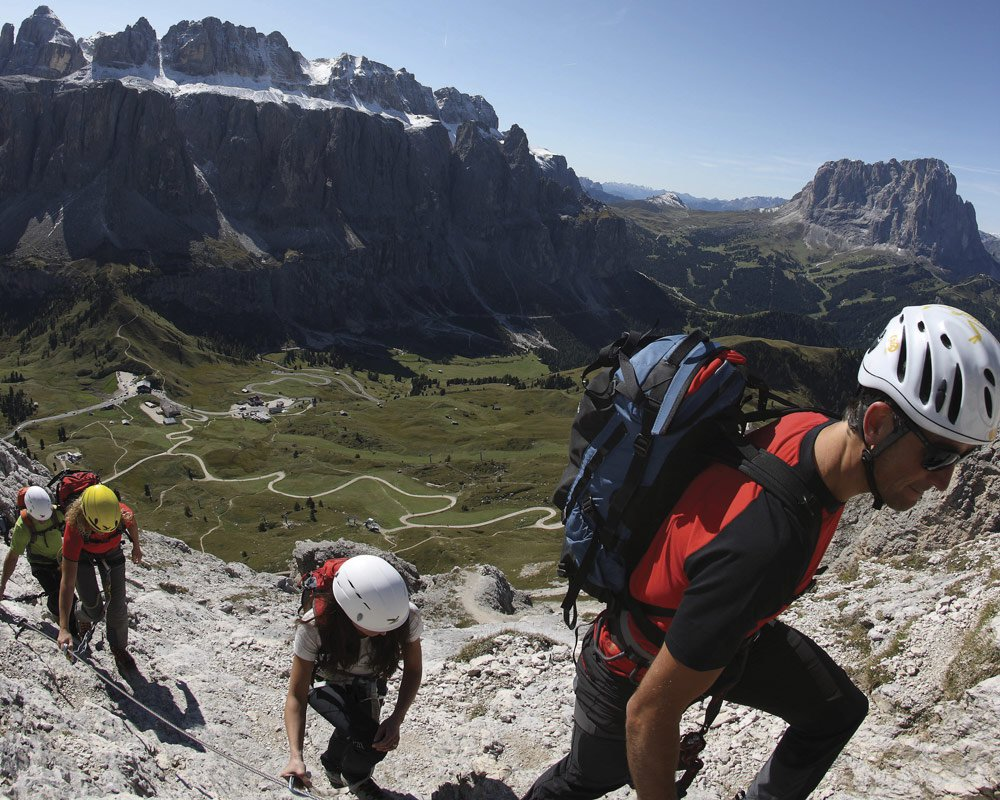 What shall we offer today for an active holiday in the Dolomites?