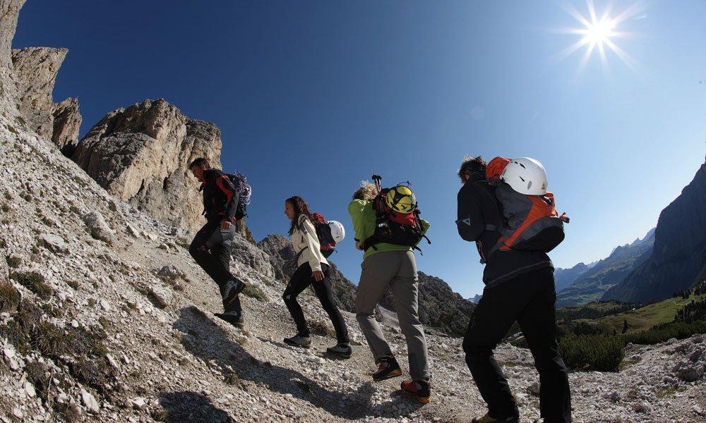 Cosa possiamo proporre oggi per una vacanza attiva nelle Dolomiti?