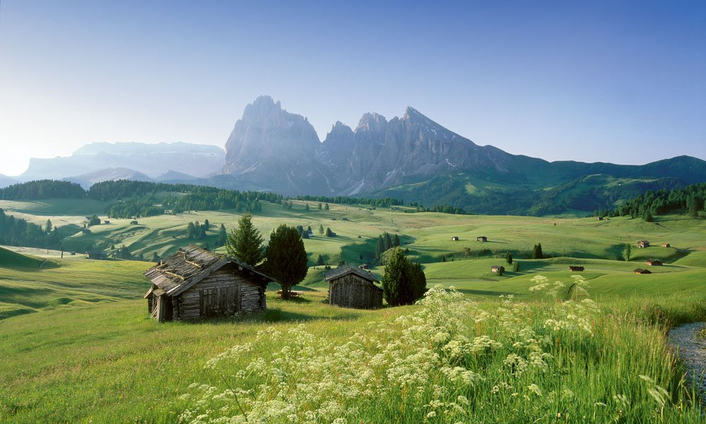 Die Schönheit der Natur genießen in den Ferien Seiser Alm