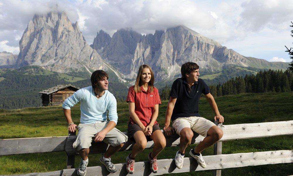 Der Gruppenurlaub Südtirol