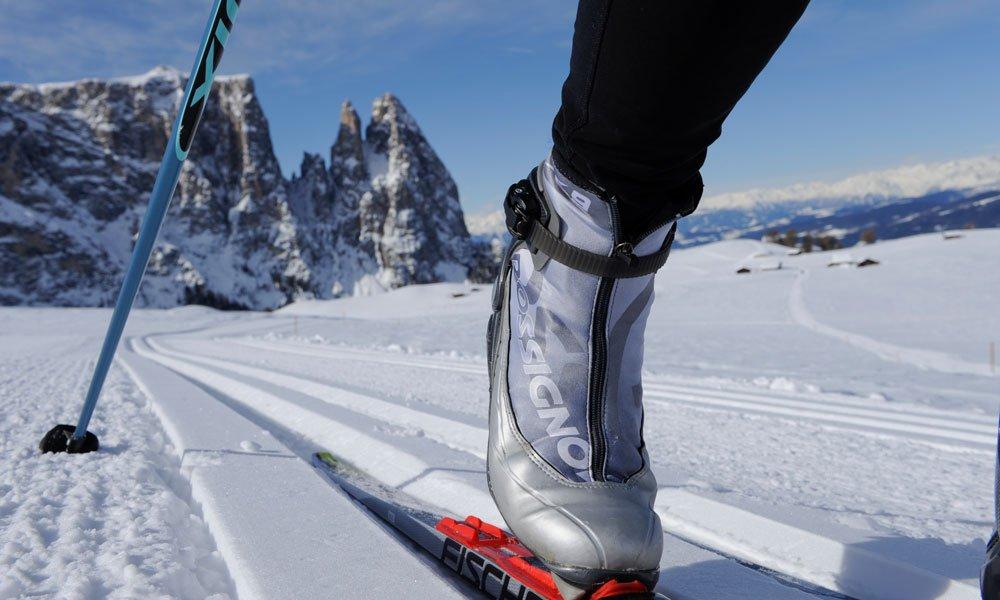 Langlaufen Seiser Alm: ein wahres Eldorado für Sportler