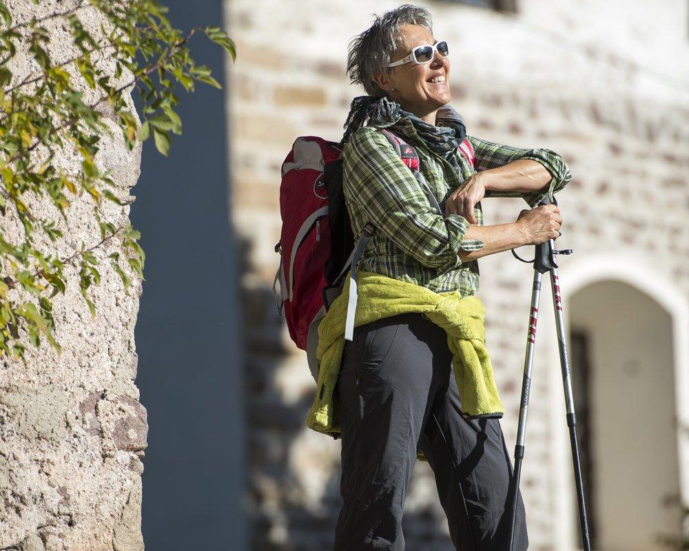 Auf die Technik kommt es an beim Nordic Walking Seiser Alm