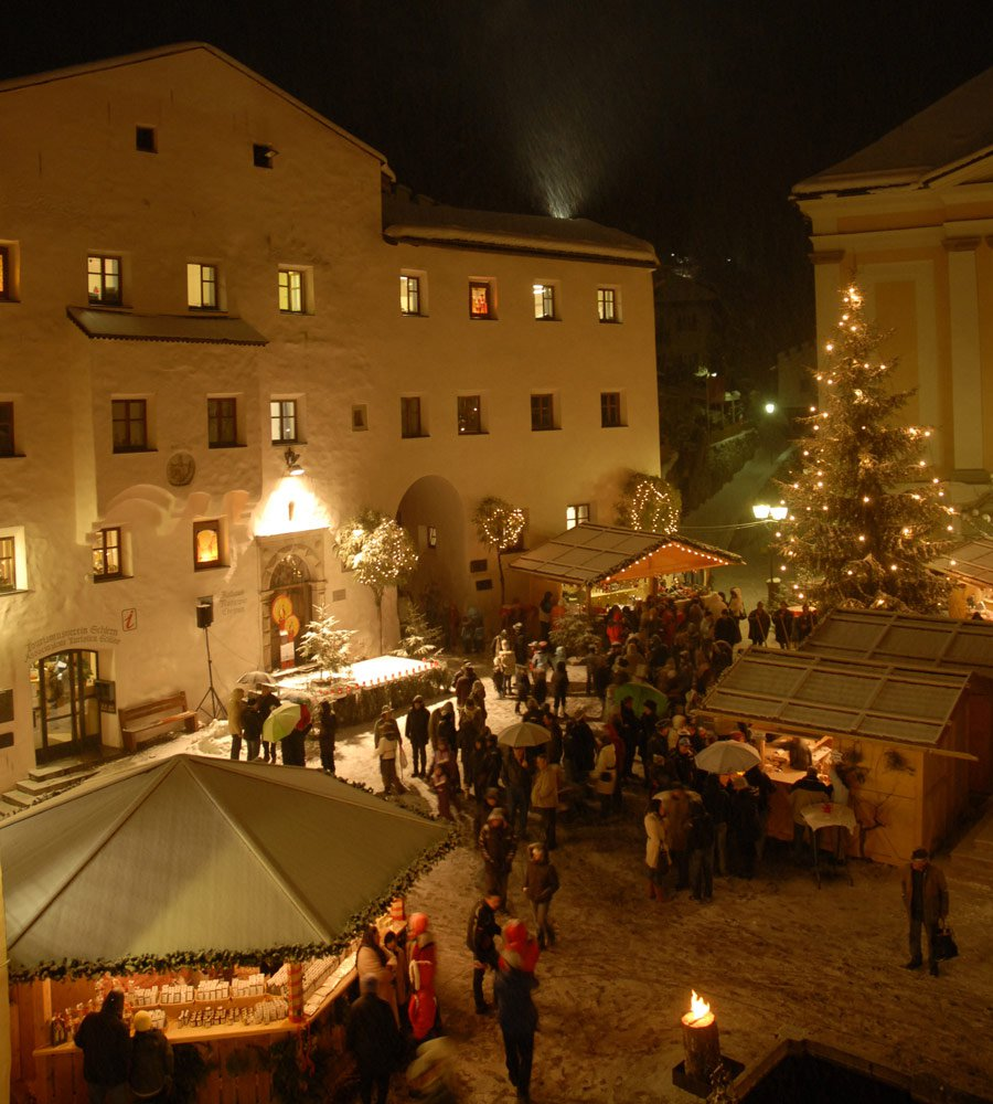 Enjoy the mountain Christmas during a Christmas holiday in the mountains