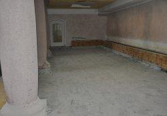 Renovierungsarbeiten im Hallenschwimmbad.