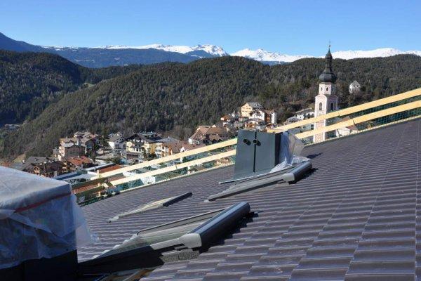 Das Dach ist nun eingedeckt: Ostern kann kommen!